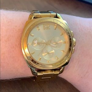 Coach Gold Boyfriend Watch